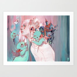 Scatterling Art Print