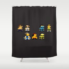 Choose Your Fighter Shower Curtain