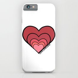 Growing Heart of Love - Love Story iPhone Case