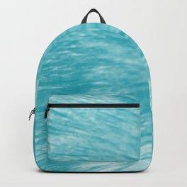 Sky Blue Fur Backpack