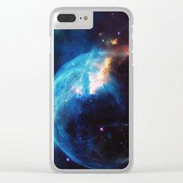 Nebula & Galaxies Clear iPhone Case
