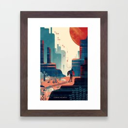 The Crossing Framed Art Print
