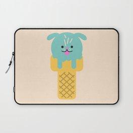 Chilled Canine - Cute Icecream Dog Laptop Sleeve