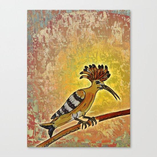 Hoopoe 2 / Nature Canvas Print