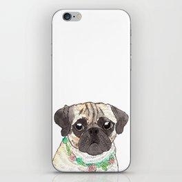 Pug iPhone Skin