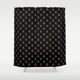 Skulls Mini Shower Curtain