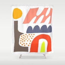 Abstrakte Formen 002 Shower Curtain
