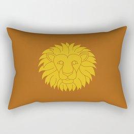 Leo Zodiac / Lion Star Sign Poster Rectangular Pillow