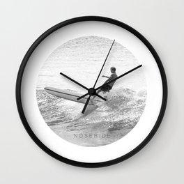 NOSERIDE ROND SURF NOOSA Wall Clock