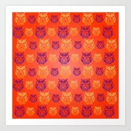 Owl Nation Art Print