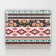 Floral Aztec Tribals Laptop & iPad Skin