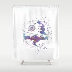 Star . Wars Death Star Shower Curtain