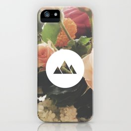 What are men to rocks and mountains? iPhone Case