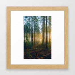 Magic Sunrise Framed Art Print