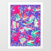 fancy Art Prints featuring Fancy by Caroline Sansone