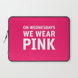 Mean Girls #11 – Pink Wednesday Laptop Sleeve