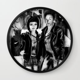 Youth culture Wall Clock