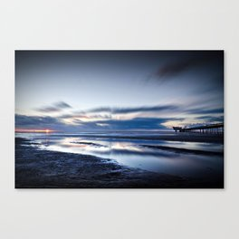 Edge Of Darkness Canvas Print
