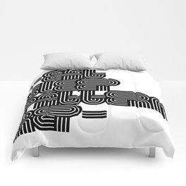 Eat Sleep Pattern Repeat Repeat Repeat Comforters