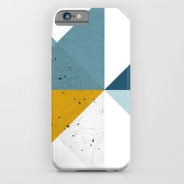 Modern Geometric 17 iPhone Case