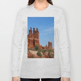 Three Gossips Arches National Park Long Sleeve T-shirt
