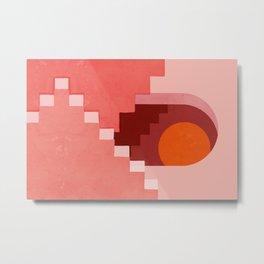 Abstraction_SUN_Architecture_Minimalism_001 Metal Print