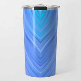 stripes wave pattern 3 c80 Travel Mug