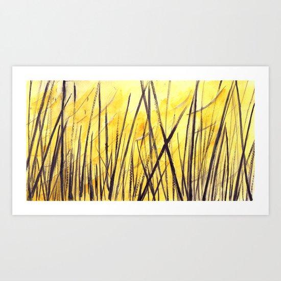 Juncos Art Print