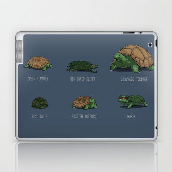 Know Your Turtles Laptop & iPad Skin