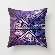 Ancient Galaxy Throw Pillow