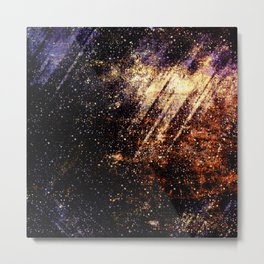 abstract ink space Metal Print
