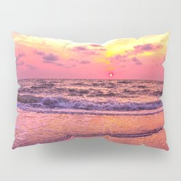 A View For the Soul Sunset Pillow Sham