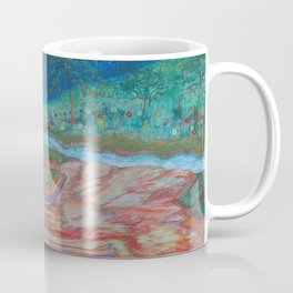 Eve opposite the garden of Eden Coffee Mug