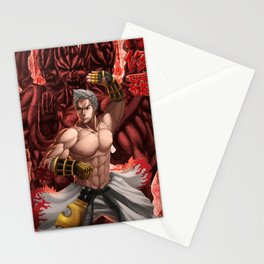 Martial Artist Stationery Cards