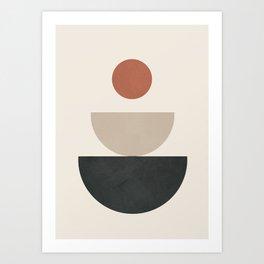 Geometric Modern Art 30 Art Print
