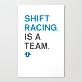 is a team Canvas Print