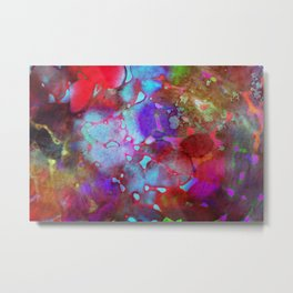 color burst Metal Print