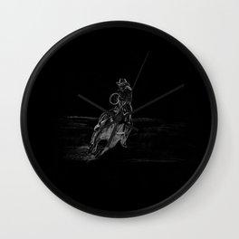 Cowboy Riding Wall Clock