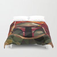 boba fett Duvet Covers featuring Boba Fett by Eric Dufresne