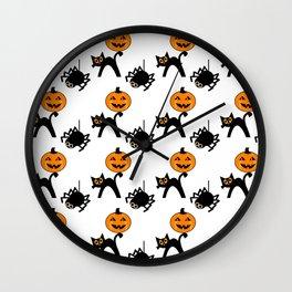 Cute Halloween Creatures Wall Clock