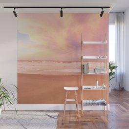 Sunset on Rockaway Beach, New York Wall Mural