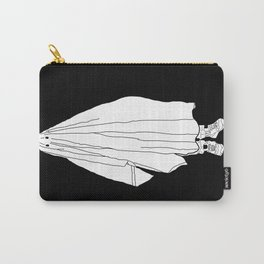 Ghosts 1 / Black Carry-All Pouch