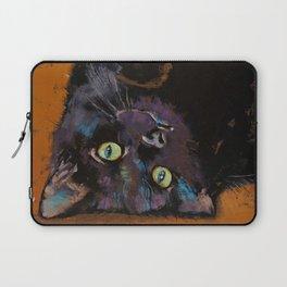 Upside Down Kitten Laptop Sleeve