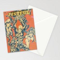 LA AMENAZA ELEGANTE Stationery Cards
