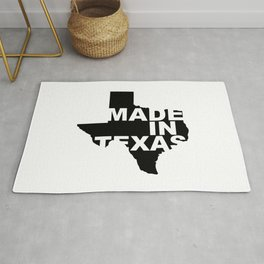 Made In Texas - Black Rug