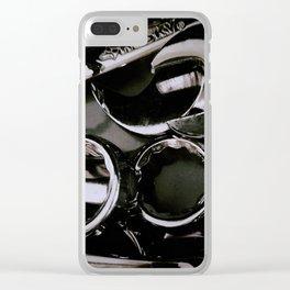 Chrome Clear iPhone Case