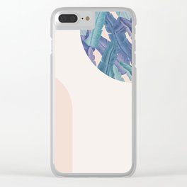 Mid-Century Candy Tropical pt.03 #society6 #tropical Clear iPhone Case