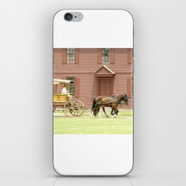 Carriage Ride Photography Art iPhone Skin