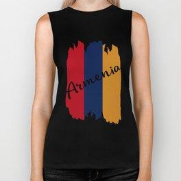 Flag of Armenia #society6 #decor #buyart #artprint Biker Tank