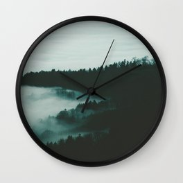 dark fog Wall Clock